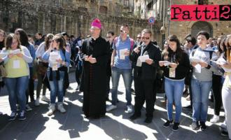 """PATTI – Il vescovo mons. Giombanco ai giovani: """"Dare credito alla speranza, dare spazio alla progettualità, osare anche l'impossibile, vivendo con l'audacia cristiana"""""""