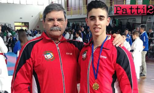 PATTI – Il giovane Pietro Lisi alle finali nazionali di Karate ad Ostia