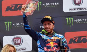 """PATTI – MXGP Gran Premio di Francia – Il pattese Tony Cairoli mantiene saldamente la """"tabella rossa"""" del mondiale"""