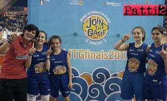 """PATTI – L'Alma Basket """"cresce"""" anche nel panorama del basket femminile giovanile nazionale"""