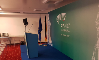 TAORMINA – La Città Metropolitana di Messina accoglie il 43º vertice del G7. Domani e sabato a Taormina appuntamento con le sette maggiori potenze economiche mondiali