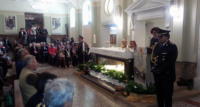 MESSINA – La polizia metropolitana festeggia il patrono Sant'Annibale Maria di Francia