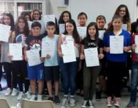 """PATTI – Scuola media """"Bellini"""". Attestati di merito per gli alunni che si sono distinti durante le """"Olimpiadi di Problem Solving"""""""