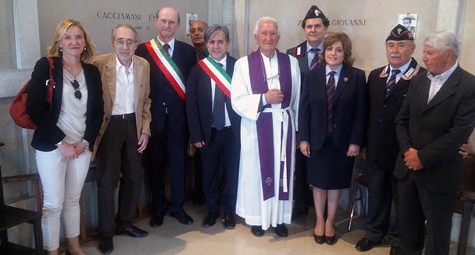 MIRTO – A Gubbio alla commemorazione dei 40 Martiri uccisi da una rappresaglia nazista e per ricordare il concittadino Giovanni Zizolfi