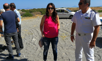 CAPO D'ORLANDO – Bonifica ambientale della spiaggia, attività congiunta Comune – Capitaneria