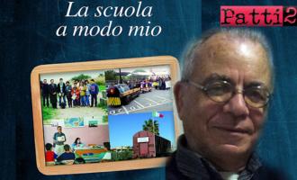"""BARCELLONA P.G. – """"La scuola a modo mio"""". Ernesto Zangla affida la propria molteplice esperienza ad un libro"""