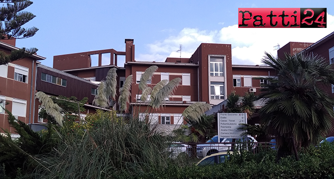 """PATTI – Due casi di covid-19 all'ospedale """"Barone Romeo"""""""