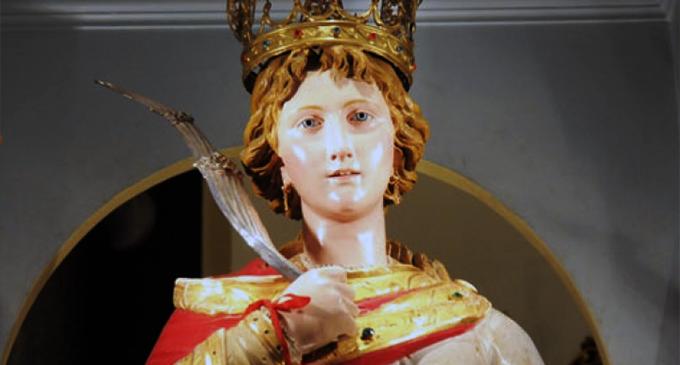 PATTI – Le reliquie di Santa Febronia Trofimena dopo 50 anni tornano a Patti
