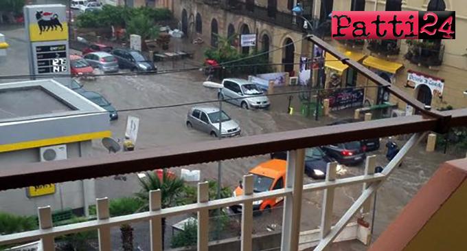 PATTI – Un intero paese va in tilt in mezzora o poco più di pioggia scrosciante. Eravamo impreparati o cosa ?