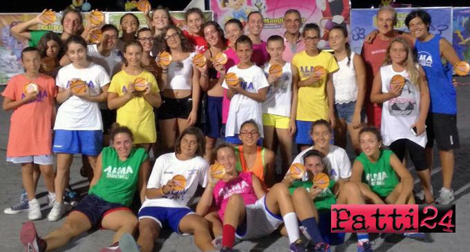 """PATTI – """"Alma Basket Summer 2017"""". Una festa del basket femminile"""