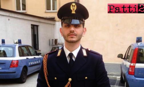GIOIOSA MAREA – Gianluca Accordino, 24 anni, poliziotto natio della frazione San Giorgio in servizio a Cuneo perde la vita in un incidente stradale