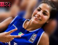"""PATTI – Europeo under 16 basket femminile. Oggi alle 18,30 c'è un'altra """"battaglia"""" da vincere per la pattese Beatrice Stroscio e la Nazionale Italiana"""