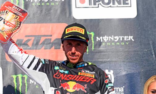 """PATTI – Mxgp di motocross, Tony Cairoli a Frauenfeld, in Svizzera ha chiuso al terzo posto. """"Quest'anno l'obiettivo è solo uno: il campionato"""""""