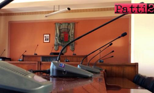 SAN PIERO PATTI – Venerdì 18, tornerà a riunirsi, in seduta straordinaria, il consiglio comunale
