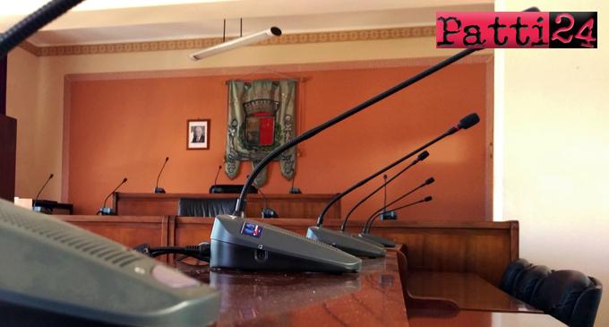 SAN PIERO PATTI – Oggi Consiglio Comunale in seduta straordinaria per eleggere Presidente e Vice