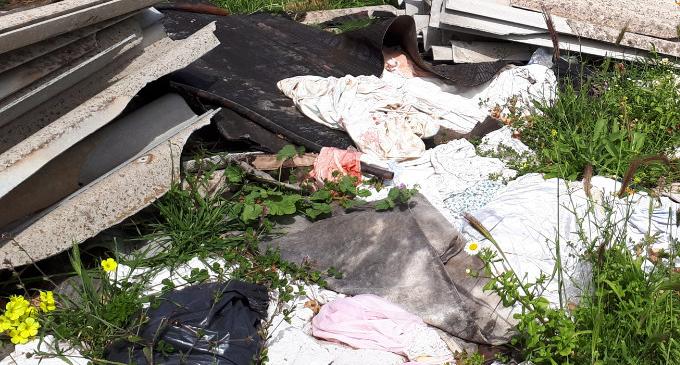 ITALA – Individuata dalla Polizia metropolitana di Messina una discarica di amianto in contrada Tavoliere