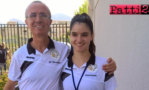 PATTI – La pattese Anastasia Orlando qualificata ai campionati italiani di karate specialita' kumite