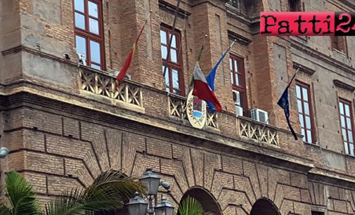MILAZZO – Consiglio approva modifica regolamento tributi e convenzione con ufficio progettazioni della Regione
