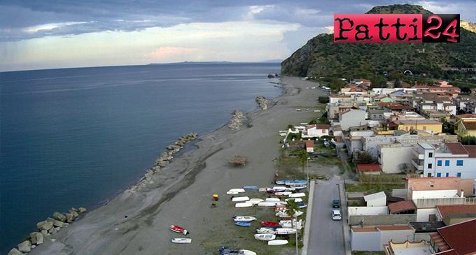 PATTI – Lavori per la messa in sicurezza del costone roccioso in località Mongiove
