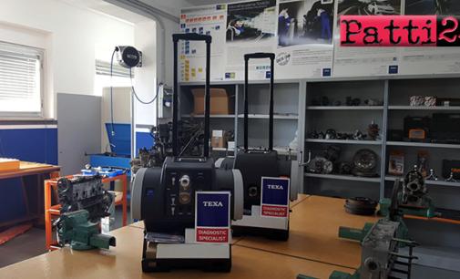 """PATTI – I.I.S. Borghese-Faranda. Progetto """"Scuola e Azienda Partnership Comune"""", avvio attività Modulo Meccanica e Meccatronica."""