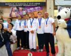 PATTI – Il pattese Federico Mosca sul podio con la squadra siciliana al 4° trofeo CONI Kinder +Sport