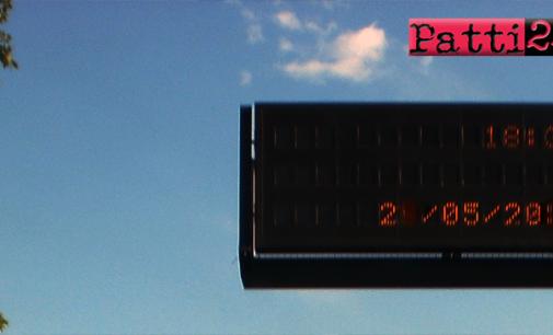 CAPO D'ORLANDO – Tratta autostradale tra lo svincolo di Brolo e quello di Rocca di Caprileone chiusa al traffico dalle ore 22:00 del 28 settembre alle ore 6:00 dell'indomani per collocazione cartello a Messaggio Variabile