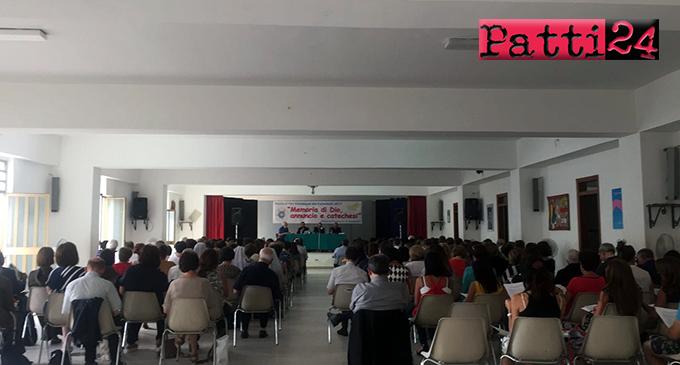 PATTI – Si è svolto l'annuale convegno dei catechisti della diocesi di Patti