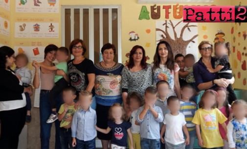 """PATTI – """"Festa dell'Accoglienza"""" della scuola materna di Patti Marina. Quest'anno nei locali dell'istituto """"Caleca"""""""