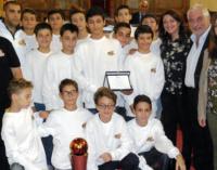 MILAZZO – Premiata in aula consiliare la società Minibasket Milazzo