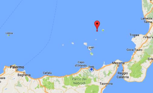 EOLIE – E' stata registrata questa notte una scossa sismica di magnitudo 3.7 a nord dell'Arcipelago delle Isole Eolie