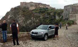 MILAZZO – Presentato alla stampa lo spot Skoda girato a Milazzo