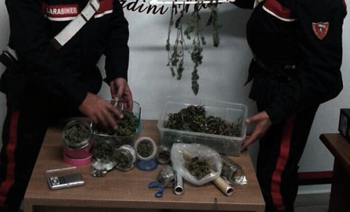 GIARDINI NAXOS – Stupefacenti. Sequestrati 300 grammi di marijuana, due arresti e una denuncia.