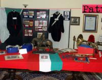 """MESSINA – Si è chiusa la mostra """"Storia dei Carabinieri nel passato e nel presente""""."""