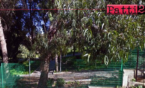 PATTI – Sabato 25 cerimonia di inaugurazione del rinnovato Parco Comunale di Piazza Marconi