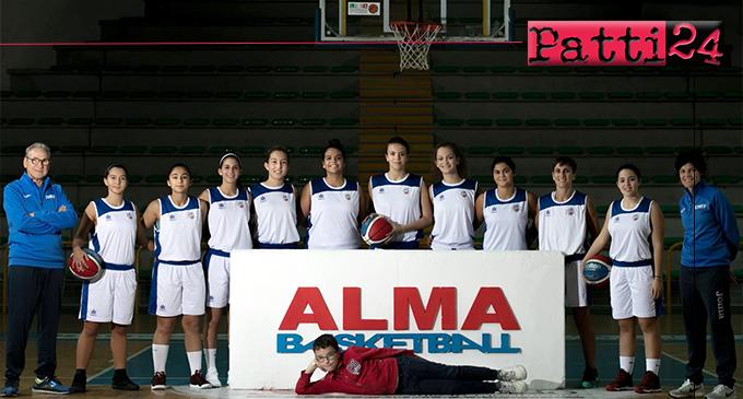 """PATTI – Reduce da tre sconfitte consecutive l'Alma Basket Patti domani al """"Palaserranò"""" contro la Fenice Priolo punta al riscatto"""