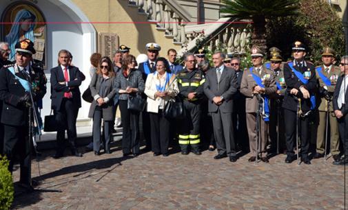 """MESSINA – Celebrazione per la ricorrenza del 4 novembre """"Festa dell'unità nazionale"""" e """"Giornata delle forze armate"""""""