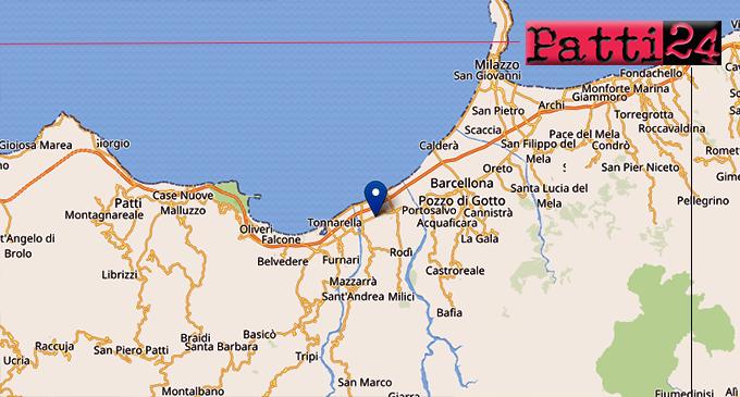 TERME VIGLIATORE – Lieve sisma di ML 2.6, ipocentro a 6 km con epicentro a 1 Km da Terme Vigliatore. Altri 2 eventi in precedenza a 1 Km da Rodì Milici
