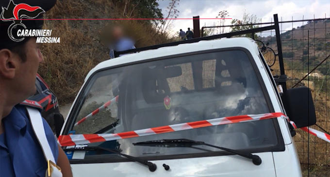 """MONGIUFFI MELIA – Omicidio di Pietro Lo Turco. Arrestato operaio di 65enne ritenuto responsabile di """"omicidio premeditato""""."""