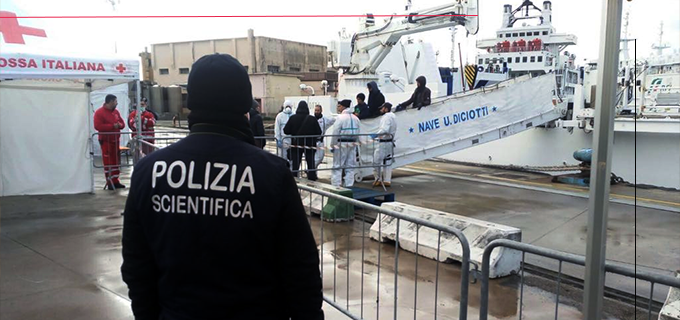 MESSINA – Sbarco del 10 dicembre a Messina. La Polizia ferma quattro presunti scafisti
