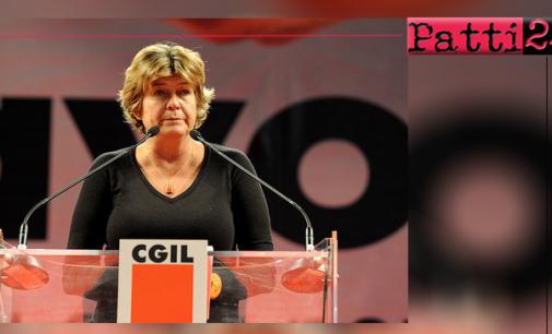 MESSINA – Iniziativa sullo sviluppo nel territorio con il segretario generale della Cgil Susanna Camusso
