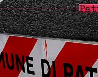 PATTI – Interventi su manto stradale dissestato in alcune strade cittadine