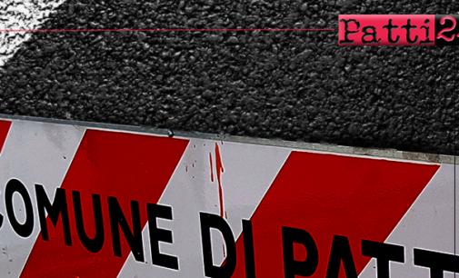 PATTI – 30.000 euro per lavori urgenti di manutenzione straordinaria della pavimentazione in asfalto in alcune vie del centro cittadino