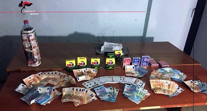 MESSINA – Scoperta bisca clandestina in pieno centro. Denunciati 11 cingalesi