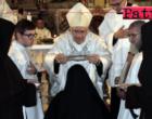 """MESSINA – Montevergine, celebrato rito di Professione perpetua dei voti solenni di giovane clarissa dell'Ordine """"Sorelle povere di S. Chiara"""""""