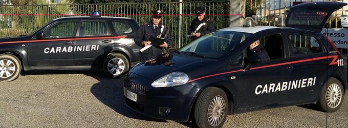 MILAZZO – Sorpresi mentre asportavano materiale in ferro da un capannone dell'area industriale di Giammoro. Due arresti