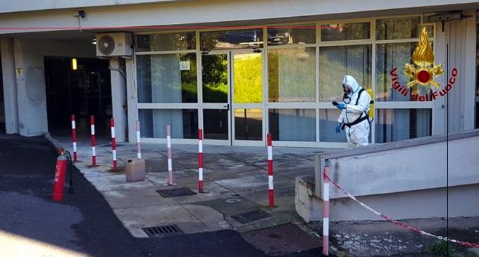 MESSINA – Fuoriuscita di sostanze chimiche da un laboratorio della Facoltà di Farmacia dell'Ateneo