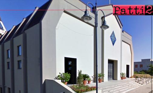 """PIRAINO – Venerdì nella chiesa """"Maria Santissima di Lourdes"""" si terrà il ritiro di Avvento dei giovani della diocesi di Patti."""