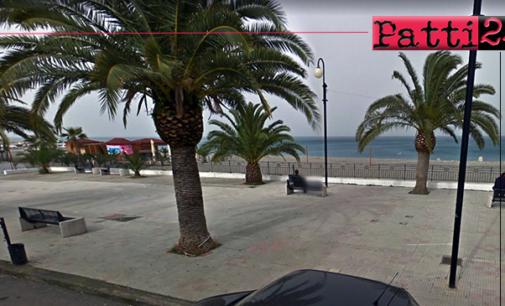 PATTI – Lavori di riqualificazione Piazzetta Garibaldi a Marina di Patti