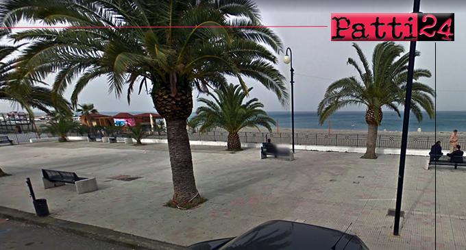 PATTI – Manutenzione straordinaria della piazzetta Garibaldi sul lungomare di Marina di Patti