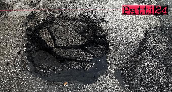 PATTI – Via 2 Giugno. Anno nuovo, perdite d'acqua…vecchie